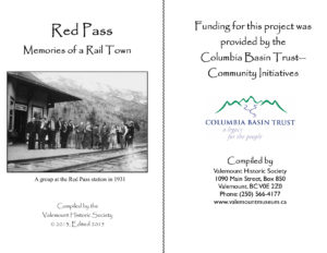 Red Pass – Memories of a Rail Town